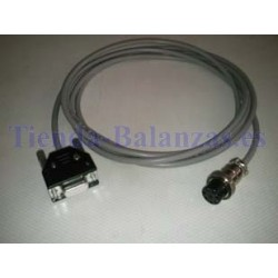 CABLE RS-232 DIN8/DB9  K3T a PC